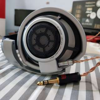 Sennheiser HD800SDR with copper litz and XLR