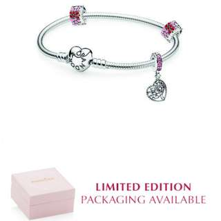 PANDORA Tree of Love Gift Set with Limited Edition Packaging