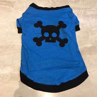 Blue Skull pets clothing