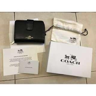 Original women Coach Leather Wallet (Accept Swap)
