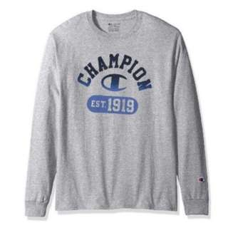 Authentic Champion Long Sleeve T Shirt Instock