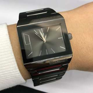 Gunmetal Color Bracelet Watch
