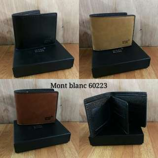 Promo Hermes. Mont blanc. Bally wallet