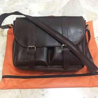 Genuine Leather Postman/Messenger Bag
