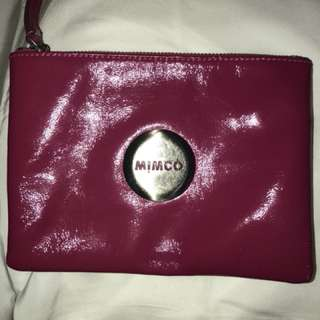 Mimco pink pouch