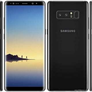 "Samsung Galaxy Note 8 6/64gb 6.3""- Orchid Gray Kredit"