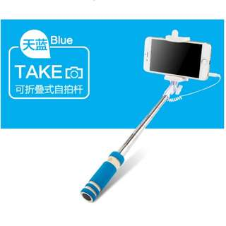 Mini monopod selfie stick