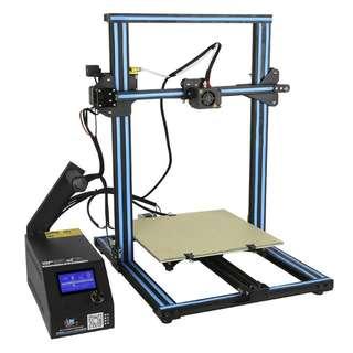 DIY 3D Printer Kit Creality CR-10S - 0.4mm Nozzle, V-slot Linear Bearing System, High Precision Printing (CVAJL-G856)