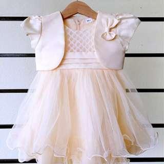 Baby Gown (+ Vest)