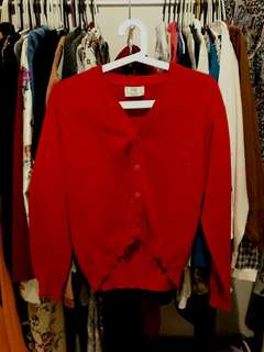 Cardigan tebal Benetton