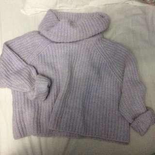 Zara small cropped knit
