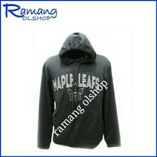 Sweater hoodie pria wanita oldnavy cut label bahan cotton pleece