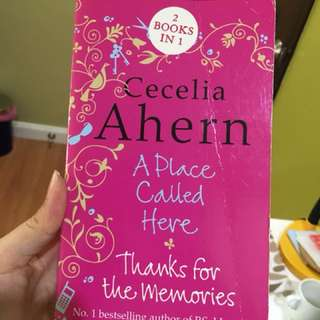 2-in-1 Cecilia Ahern (A Place Called Here and Thanks for the Memories)