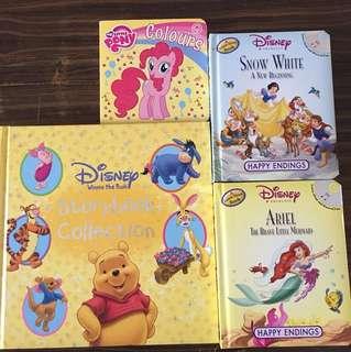 Children's Books - Disney/My little pony