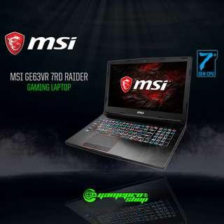 MSI GE63VR 7RD 020SG RAIDER (GTX1050Ti 4GB GDDR5)