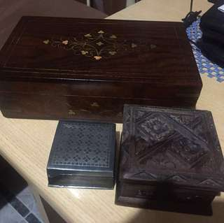 Jewelry boxes All 3