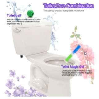 Korean Toilet Gel Cleaner (Push Type)