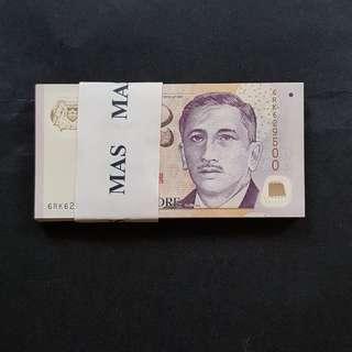 尤索$2 新钞  100張  unc