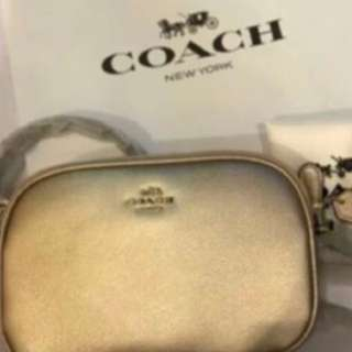 Authentic Coach women sling bag