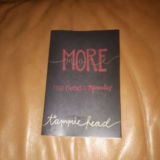 A novel titled More by Tammie Head