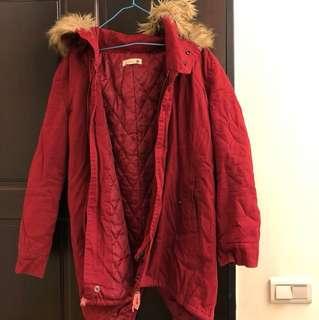 🚚 韓版毛毛外套