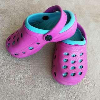 加拿大靚膠鞋 Pink and blue girl's shoes