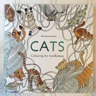 Adult Colouring in Book - Cats!