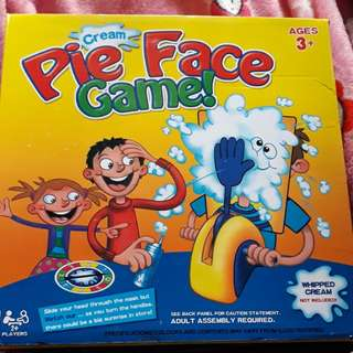 Cream Pie Face