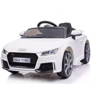 Electric Toy Car (White Audi)