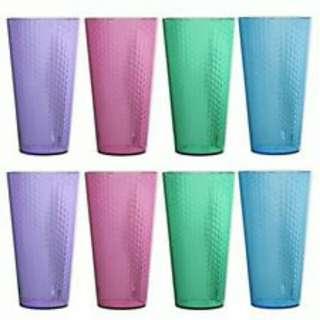 8pcs of Plastic Cup