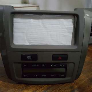 Panel head unit dan AC Toyota Fortuner 2008