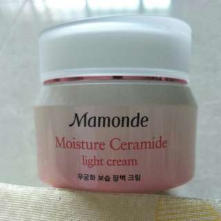 Mamonde - moisture ceramide light cream
