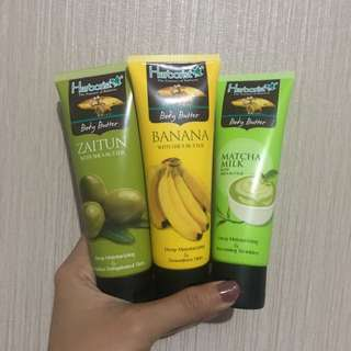 Body butter banana with shae butter herborist