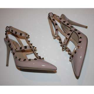 Authentic Valentino Rockstud High Heels Brand New in Box Size 5