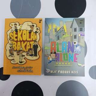 Malay children's story books (2titles)