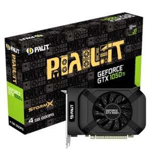 Palit GTX 1050 Ti StormX 4GB gtx1050ti