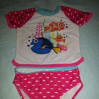 Auth.Disney 2 pcs Swim Wear