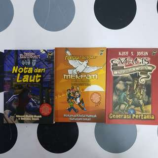 Malay story books (3titles)
