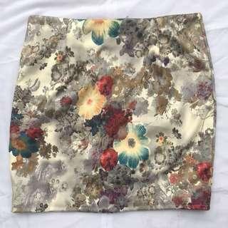 Floral A skirt
