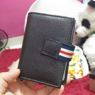 Dompet Kartu Simple (Kulit)