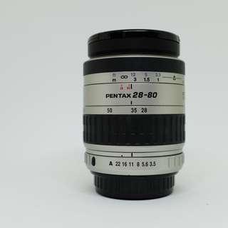 PENTAX 28-80mm f/3.5 Zoom Lens