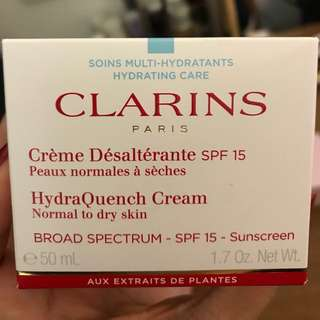 Clarins HydraQuench moisturizer (normal to dry skin)