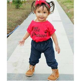 Jogger Anak Soft Denim