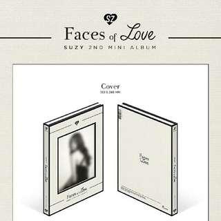 [Preorder] Suzy- 2nd mini album [Faces of love]