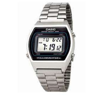 Casio Vintage B640WD-1A Silver Stainless Watch for Men&Women - COD - FREE SHIPPING
