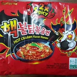 ONHAND Samyang 2X Spicy Noodles Chicken Ramen