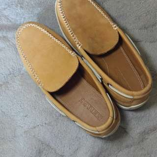 Sebago Nantucket Slip on Tan(Authentic)