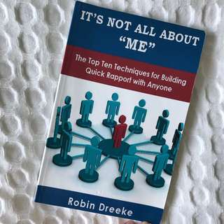 """It's not all about """"me"""" book"""