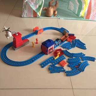 Toys Thomas the train 🚂 track