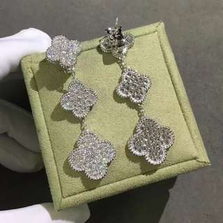 VCA earrings Replica 四葉草同款耳環